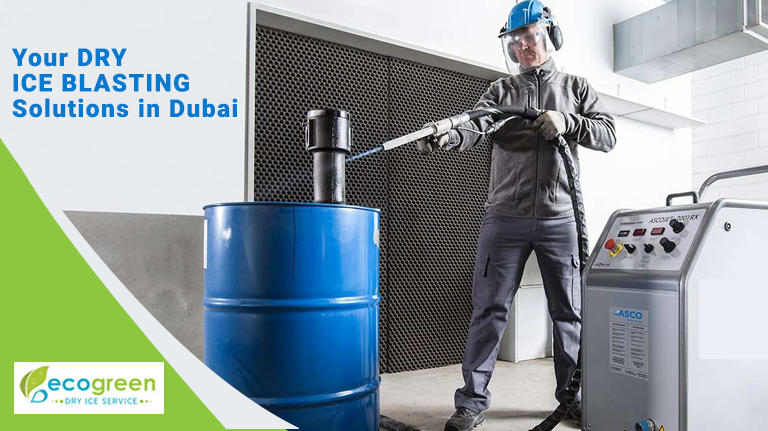 Dry Ice Delivery in Dubai | Blast Cleaning Machine UAE